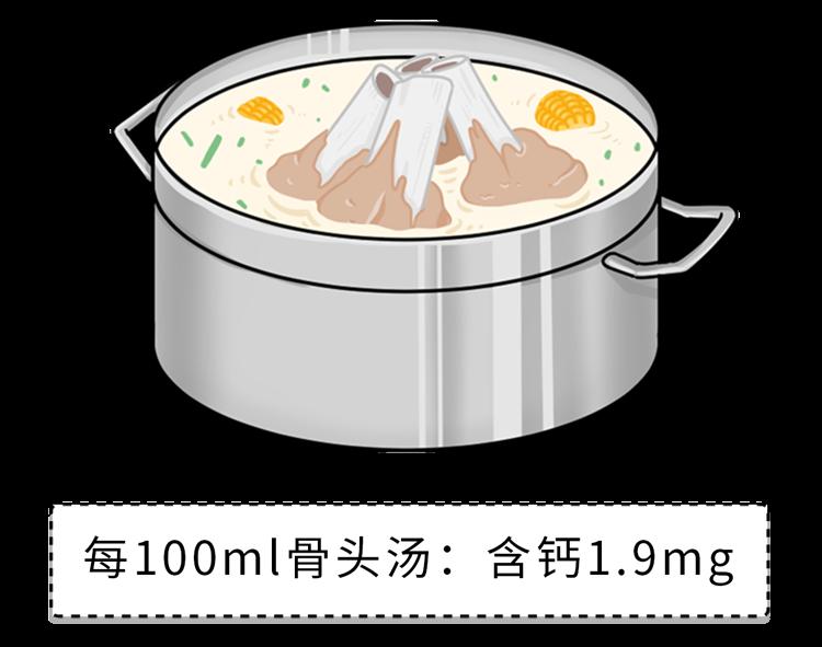 骨头汤、虾皮真的不补钙!真正补钙的食物只有这5种